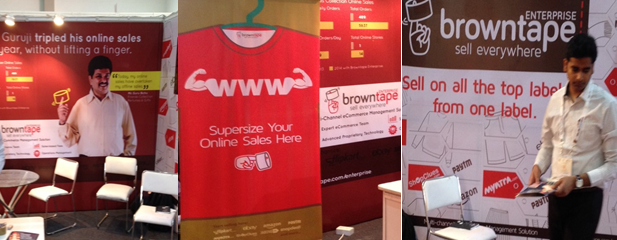 Browntape's Stall at Vastra 2014